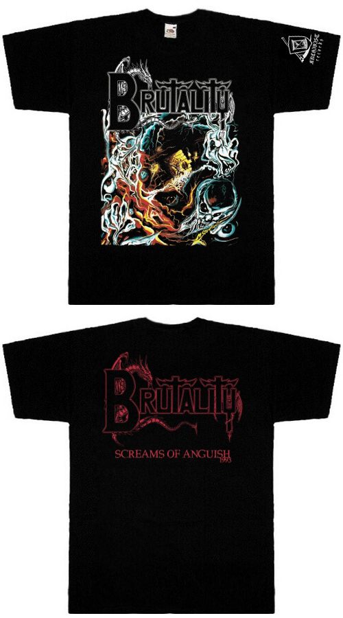 Brutality- Screams Of Anguish TS