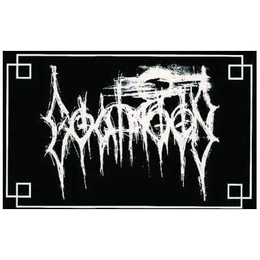 Goatmoon - Logo Patch Silver