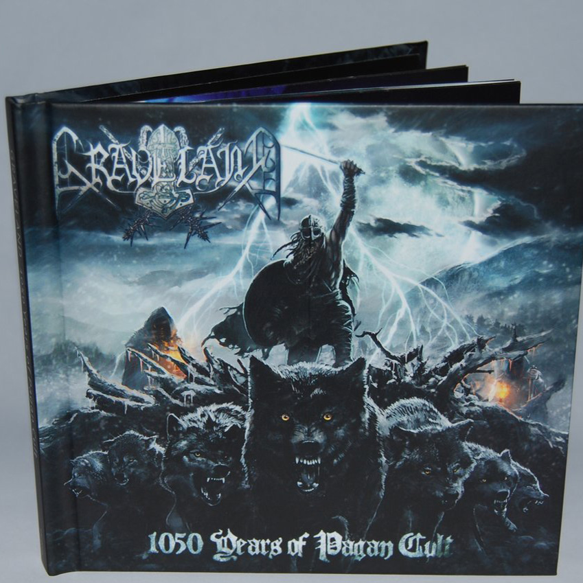 Graveland - 1050 Years of Pagan Cult DigibookCD