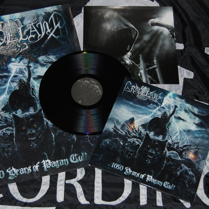Graveland - 1050 Years of Pagan Cult LP