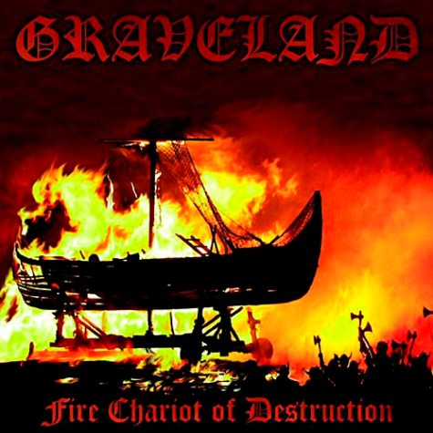 Graveland - Fire Chariot of Destruction/Impaler�s Wolves 2LP