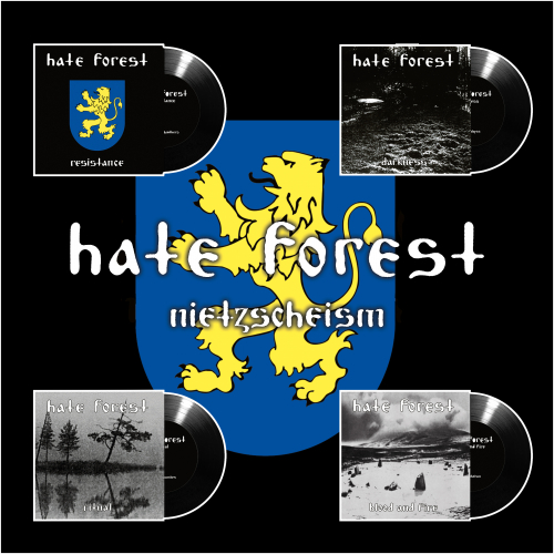 Hate Forest - Nietzscheism EP Box Set
