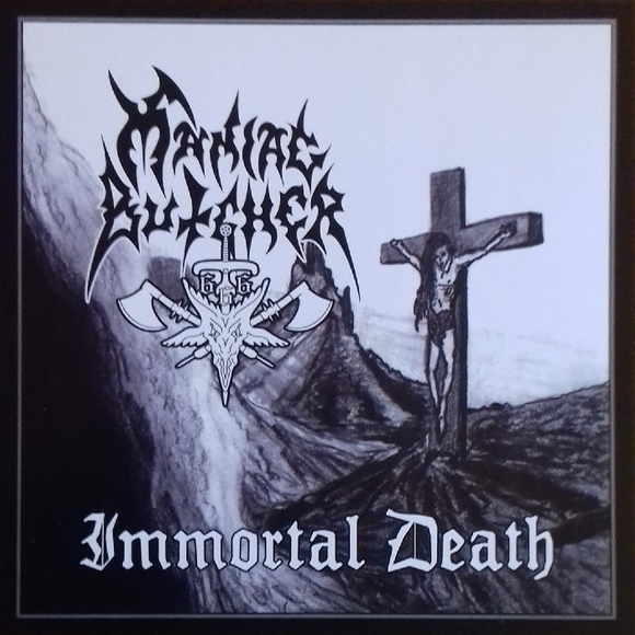 Maniac Butcher - Immortal Death LP