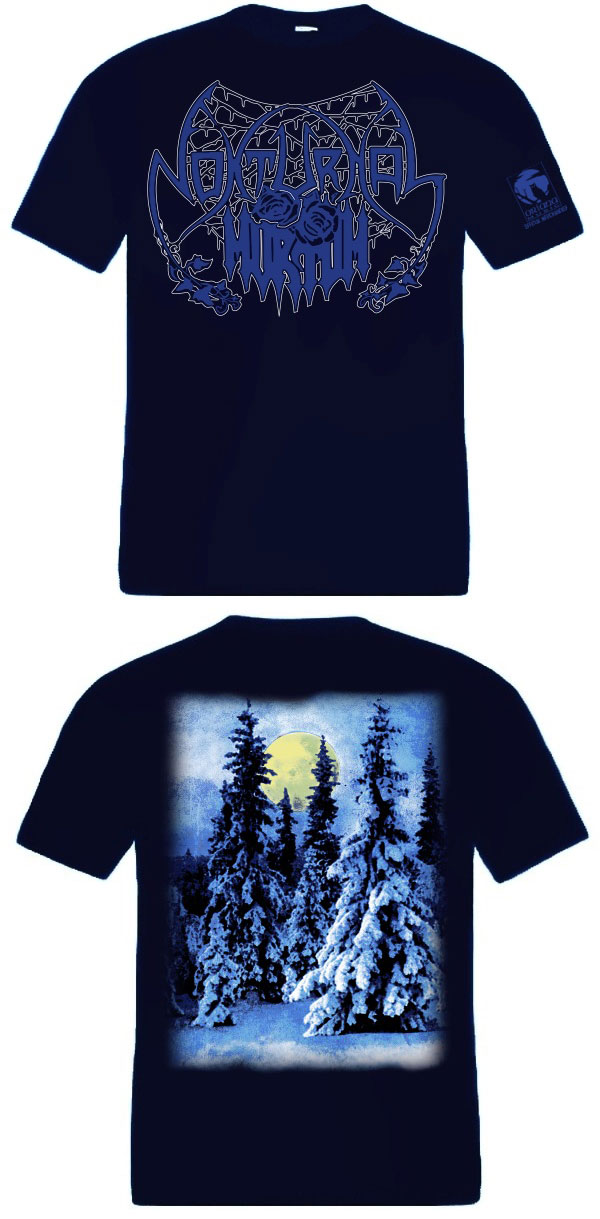 Nokturnal Mortum - Lunar Poetry (Dark Blue) TS