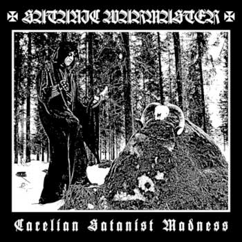 Satanic Warmaster - Carelian Satanist Madness LP