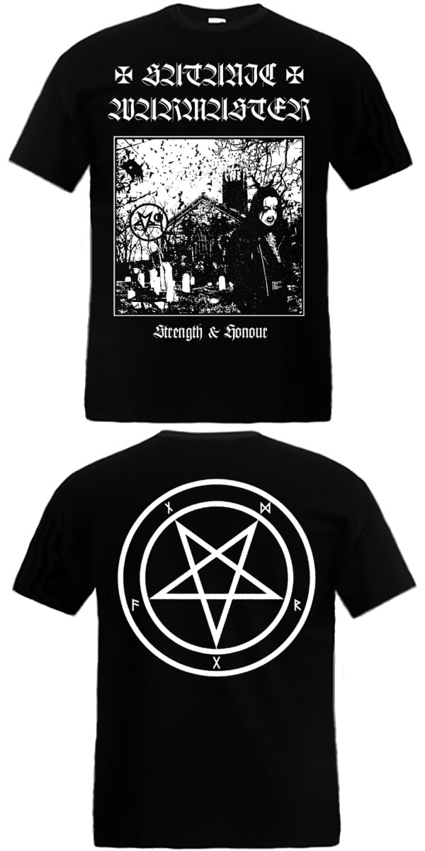 Satanic Warmaster - Strength & Honour TS