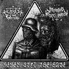 Seges Findere / Morbid Desecration - Never Stop The Hate
